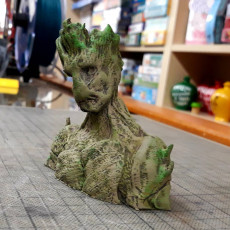 Picture of print of I am Groot Bust