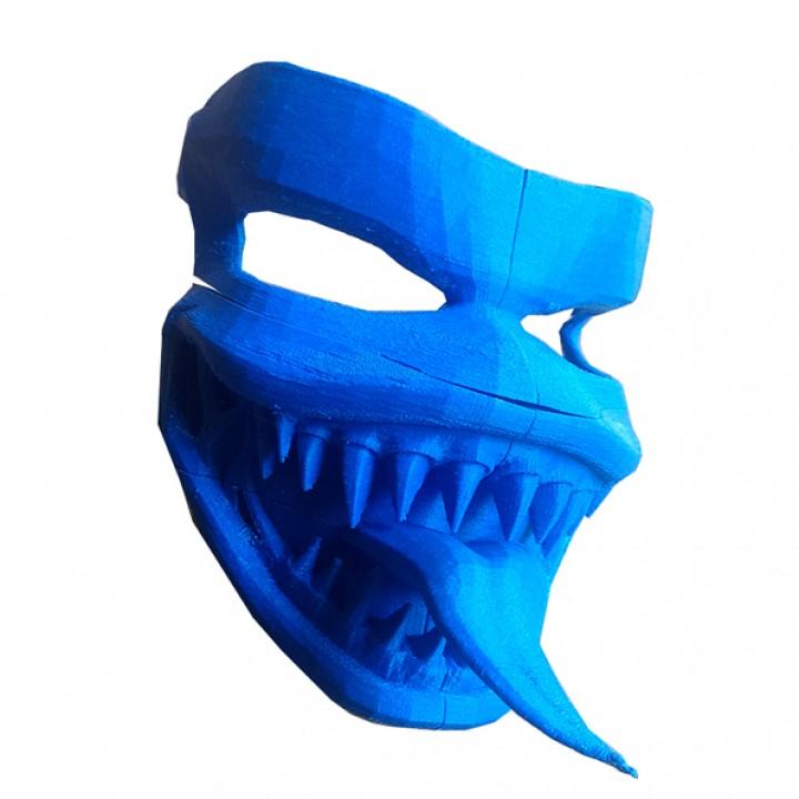 Venom Mask - Full Scale