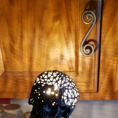Picture of print of Halloween skull lamps Этот принт был загружен Chris Renshaw