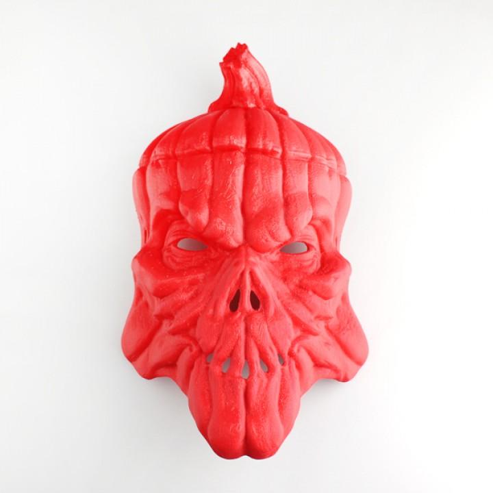 Jack-O-Lantern Mask - Full Scale