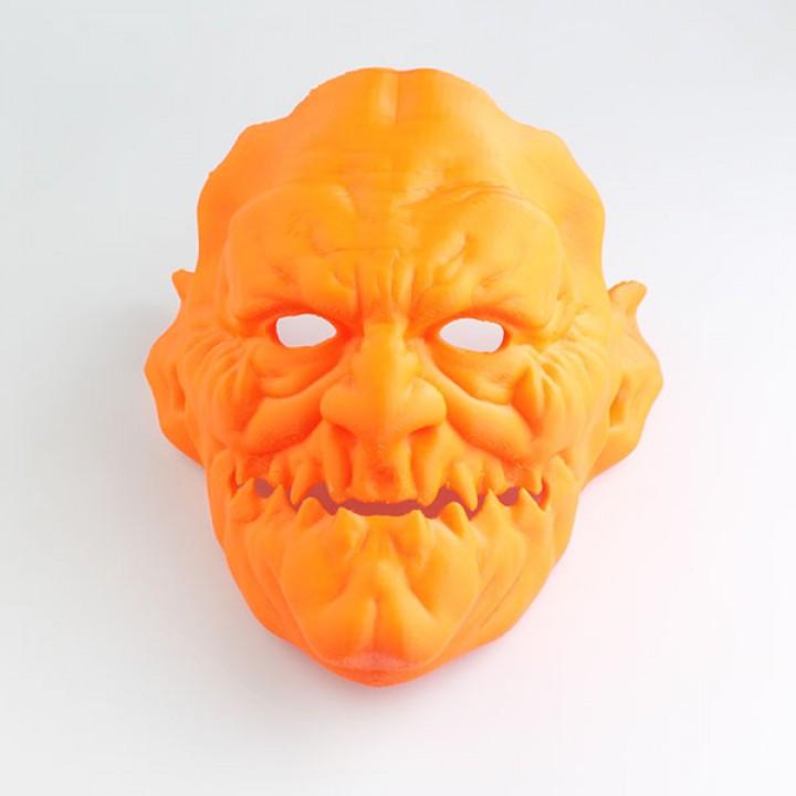 Demon Face Mask-Full Size
