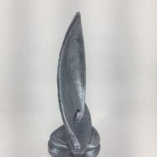 Picture of print of Sailboat Sculpture at Brigantine, America