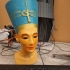 Bust of Nefertiti at the Neues Museum, Berlin print image