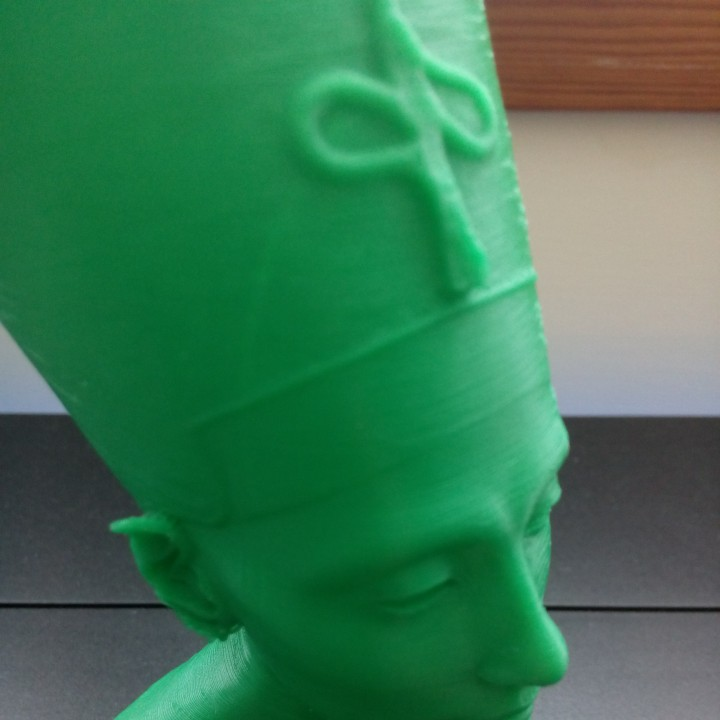 Picture of print of Bust of Nefertiti at the Neues Museum, Berlin This print has been uploaded by Marco Alici