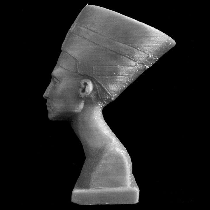 Bust of Nefertiti at the Neues Museum, Berlin