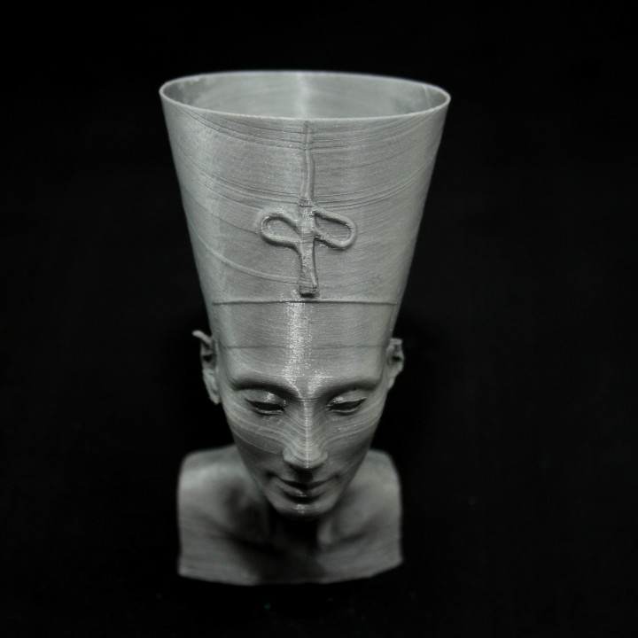 Picture of print of Bust of Nefertiti at the Neues Museum, Berlin This print has been uploaded by Ivan B