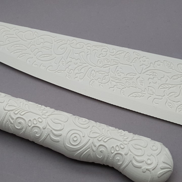 Picture of print of Vorpal blade from Alice: Madness Returns This print has been uploaded by Spectra3D Technologies