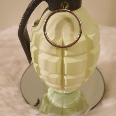 Picture of print of Grenade Themed Pot