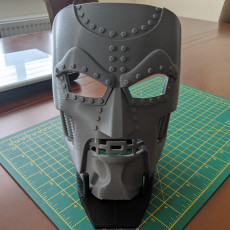 Picture of print of Mask Display Stand