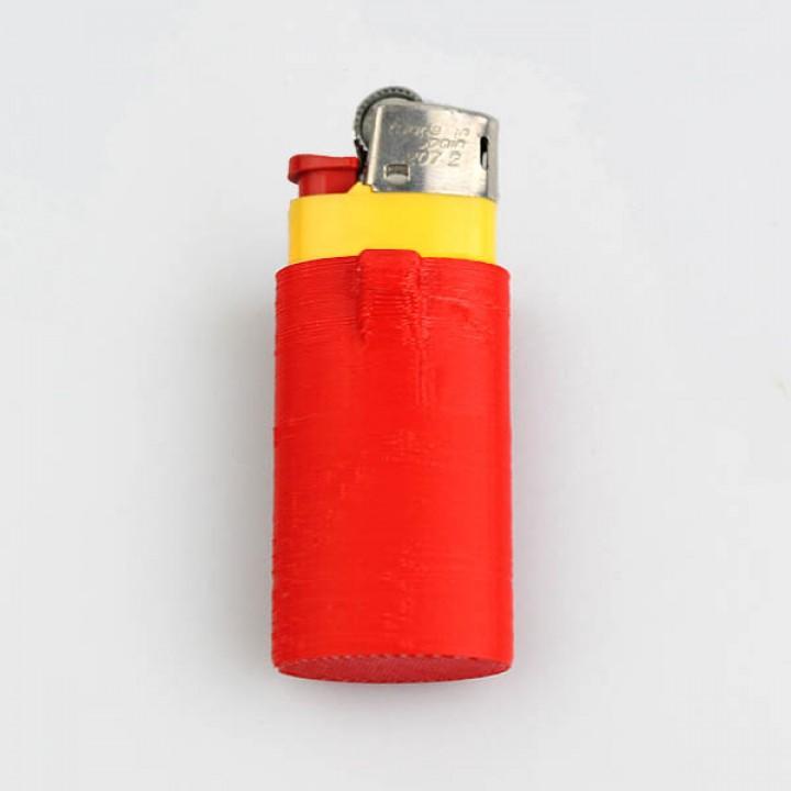 Mini lighter holder