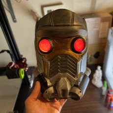 Picture of print of Guardians of the Galaxy: Star lord's Mask Version 2 This print has been uploaded by Greg Bejtlich