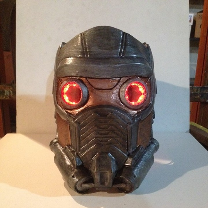 Bien connu 3D Printable Guardians of the Galaxy: Star lord's Mask Version 2  QP86
