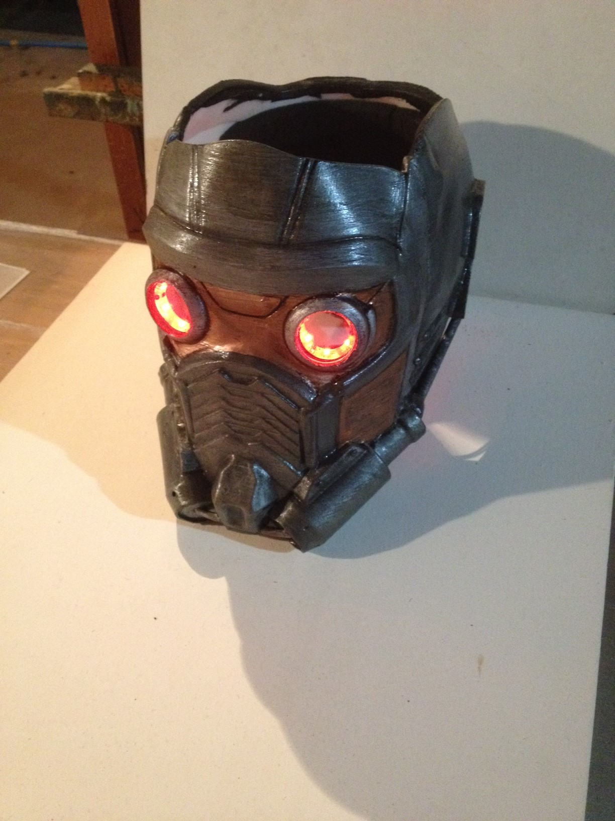 Populaire 3D Printable Guardians of the Galaxy: Star lord's Mask Version 2  UF99