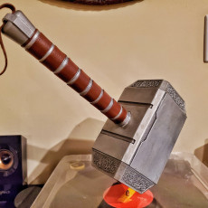 Picture of print of Mjolnir (Thor's Hammer)