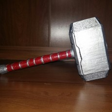Picture of print of Mjolnir (Thor's Hammer) This print has been uploaded by Ivan