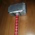 Mjolnir (Thor's Hammer) print image