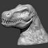 T-Rex Dinosaur head image