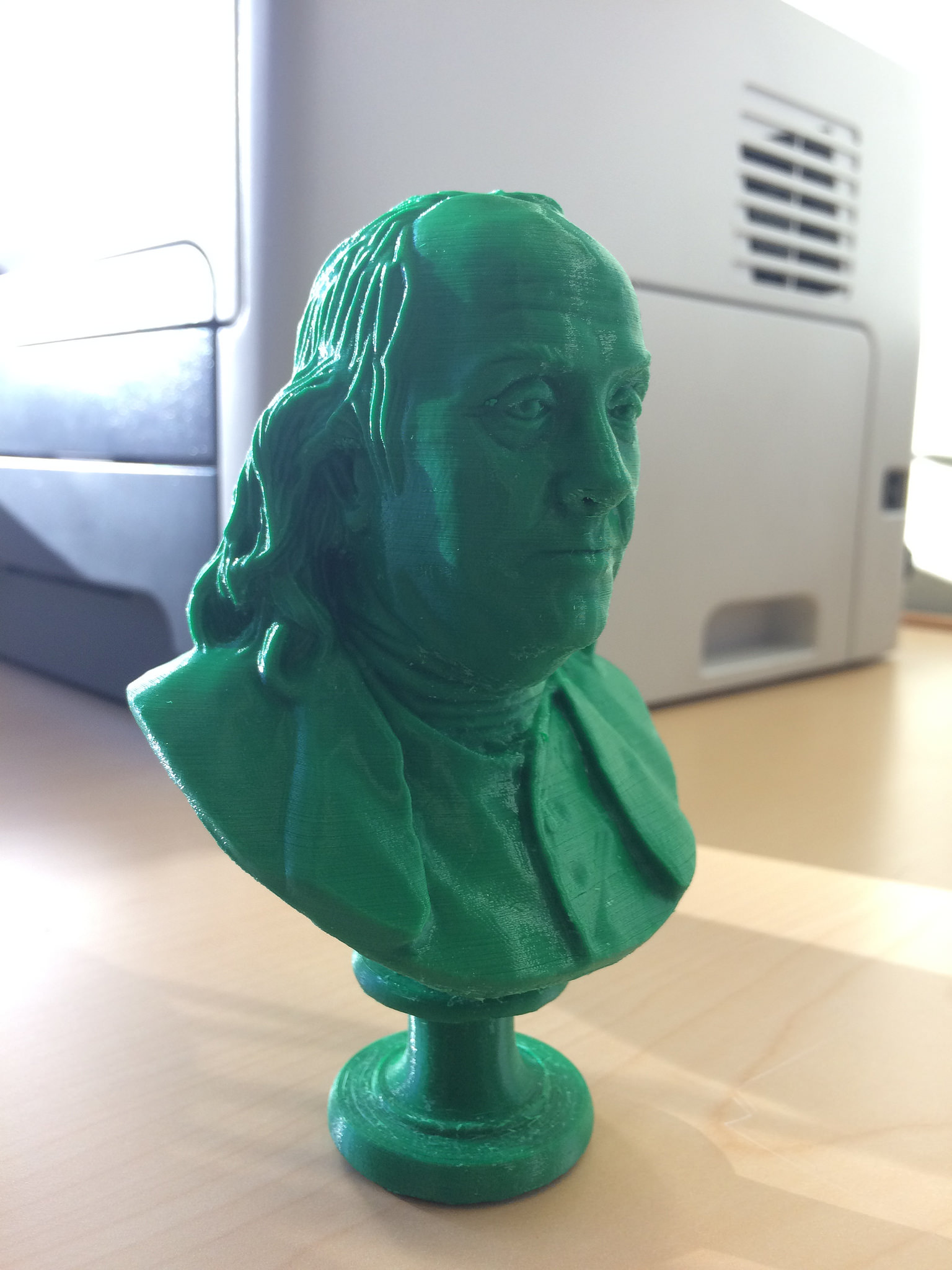 3d Printable Benjamin Franklin At The Met New York By