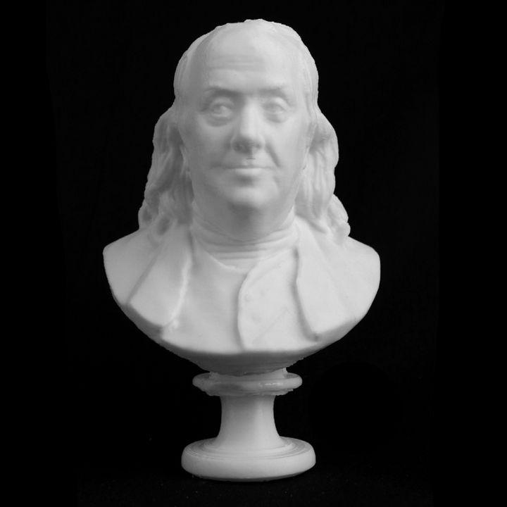 Benjamin Franklin at the MET, New York