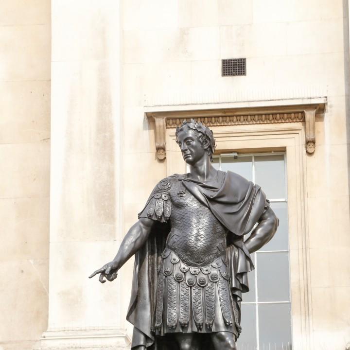 James II at Trafalgar Square, London