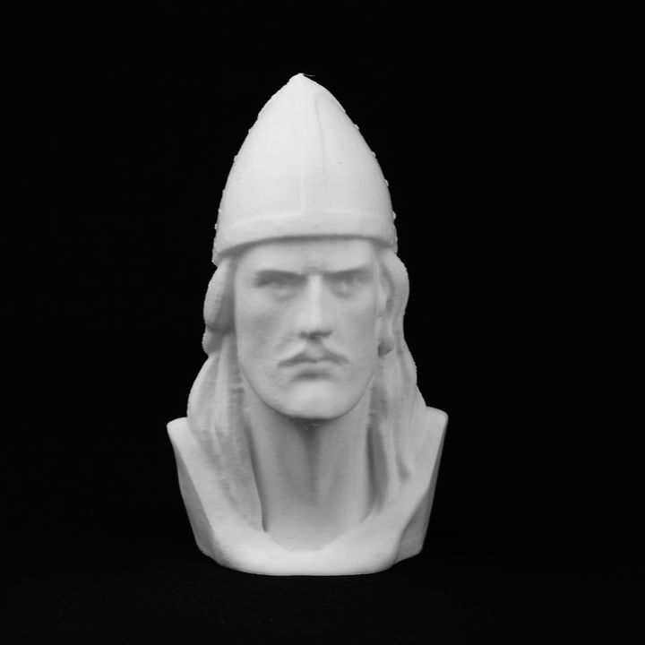 3d printable leif erikson bust at the leif erikson hall