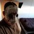 Hockey mask print image