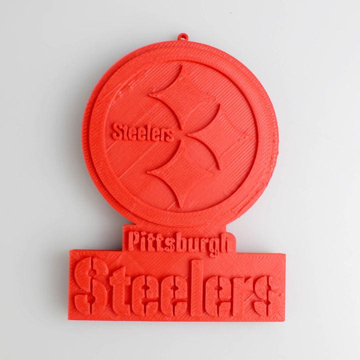 photograph about Printable Steelers Logo identify 3D Printable Pittsburgh Steelers Symbol via Oleg Khmarnyi