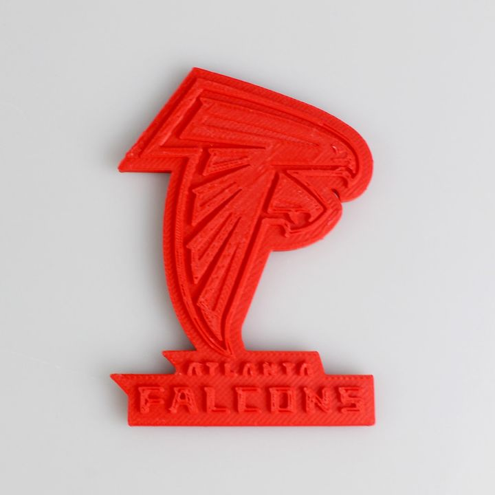 3d Printable Atlanta Falcons Logo By Oleg Khmarnyi