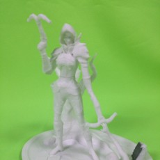 Picture of print of Demon Hunter - Diablo III This print has been uploaded by Roland Piewitt