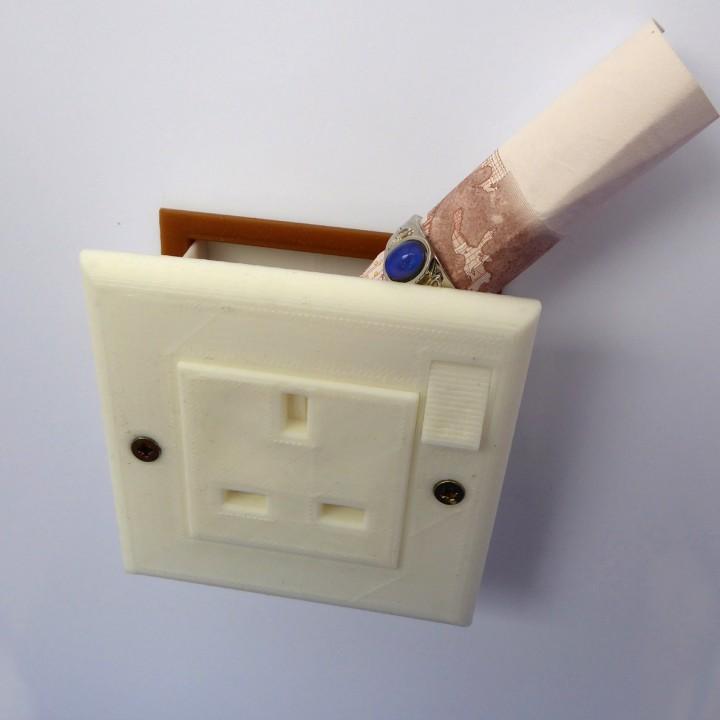 Plug Socket Stash Box