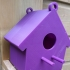 Bird House print image