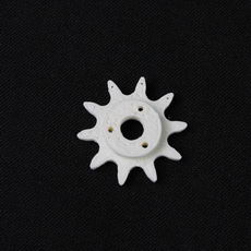 Small gear sprocket with 10 teeth