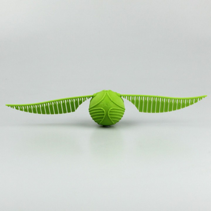 photograph relating to Golden Snitch Printable known as 3D Printable Snitch through Dan Porter