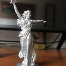 Picture of print of The Motherland Calls in Volgograd, Russia