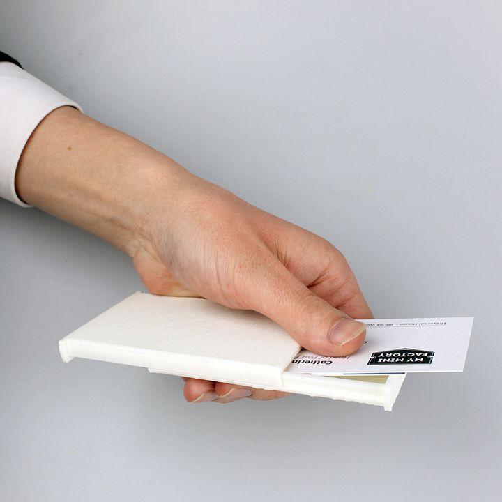 Slider Business Card Holder