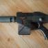 warhammer las pistol print image