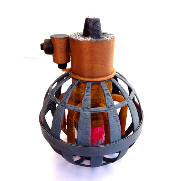 Steampunk Grenade