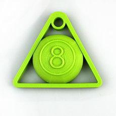 Cue Ball 8 Key Chain