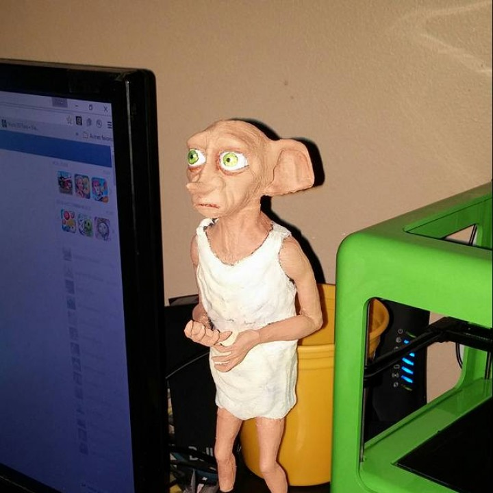 Picture of print of Dobby the Elf This print has been uploaded by Shirley Blanchard