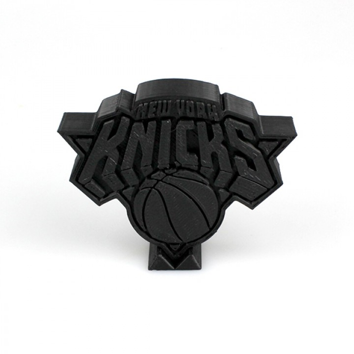 graphic relating to Knicks Printable Schedule identify 3D Printable Fresh new York Knicks Brand through Miguel Silva