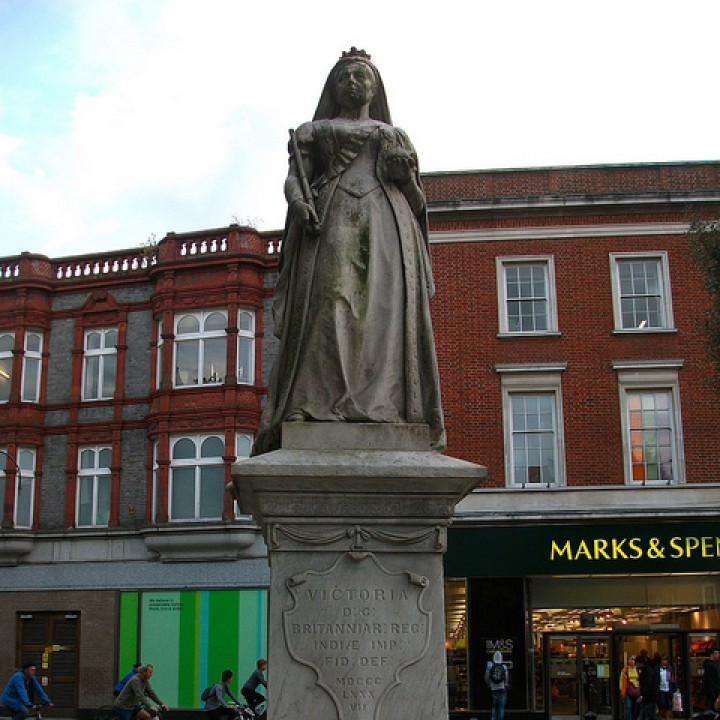Queen Victoria, Reading, England
