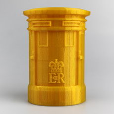 Royal Mail Golden Postbox Container