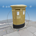Royal Mail Golden Postbox Container image