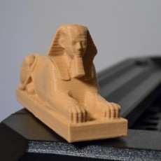 Picture of print of Hatshepsut Sphinx at The Metropolitan Museum of Art, New York