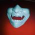 Kimatica Glitchy Geisha Mask print image