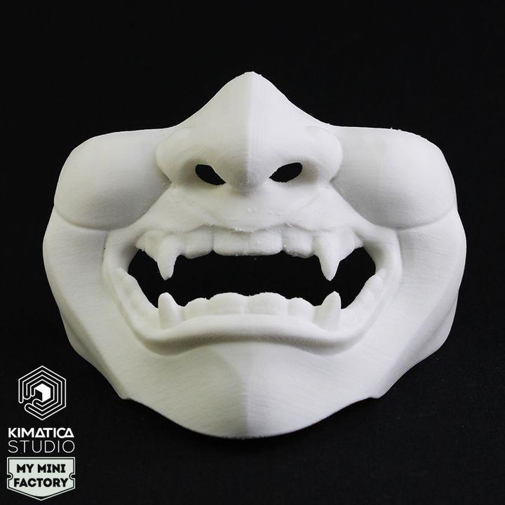 Kimatica Glitchy Geisha Mask
