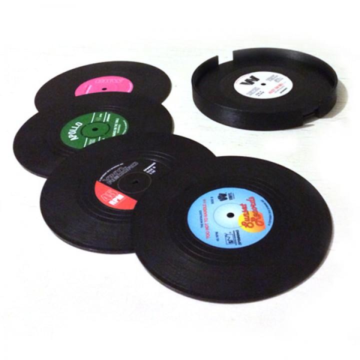 Vinyl Coasters tableholder