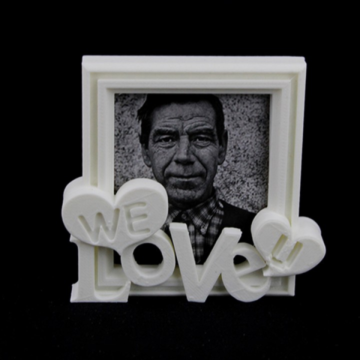 Picture Frame - We Love U 1
