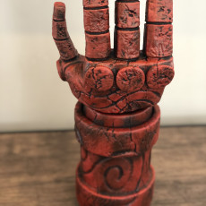 Picture of print of Right Hand of Doom (Hellboy)