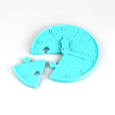 Jigsaw Clock Game for Teaching Children to read the time